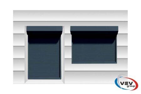 Теплі ролети для дверного отвору 1400х2200 серії Prestige - фото - продукция компании ВСВ-Групп
