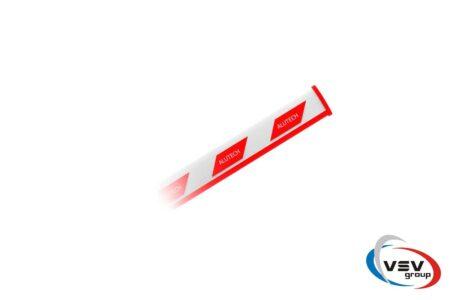 Комплект шлагбаума BRAVO с прямоугольной стрелой 4,3 м - фото - продукция компании ВСВ-Групп