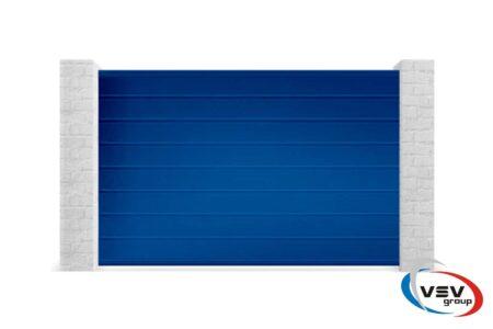 Алюмінієві відкатні ворота 3250х1710 із заповненням сендвіч-панелями М-гофр - фото - продукция компании ВСВ-Групп