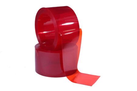 Цветная пвх лента 300х2 мм красная 1 пог.м. - фото - продукция компании ВСВ-Групп