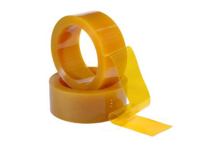 Пвх лента 200х2 мм антимоскитная желтая 1 пог.м. - фото - продукция компании ВСВ-Групп