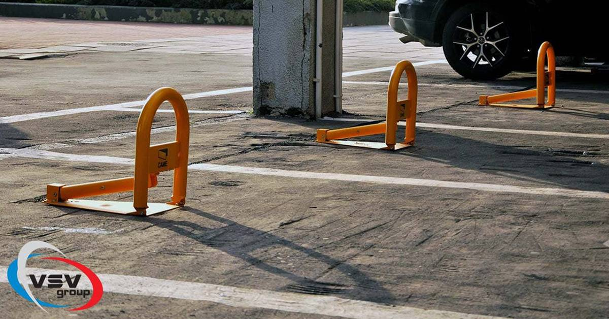 Види і призначення паркувальних бар'єрів - фото - акції від компанії ВСВ-Групп