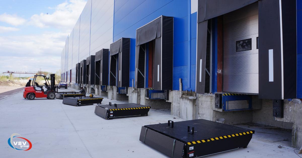 Комплектация складского помещения продукцией ТМ Alutech - фото - акции от компании ВСВ-Групп