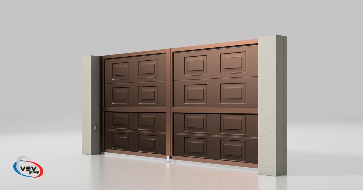 Як правильно вибрати в'їзні ворота на ділянку - фото - статья на блоге компании ВСВ-Групп