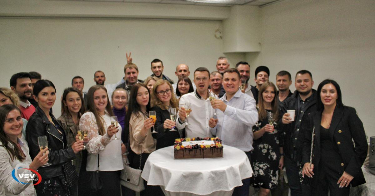 ВСВ-Групп отпраздновала 15-летие! - фото - новость от компании ВСВ-Групп